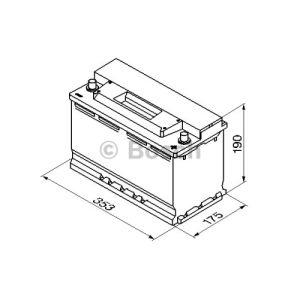 Bosch 0092S30130 - Batterie de démarrage