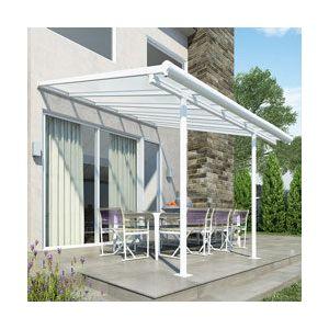 Palram Pergola aluminium blanc AZUR 300 x 300 cm