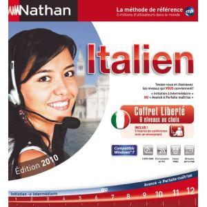 Coffret liberté Nathan Italien - 2010 [Windows]