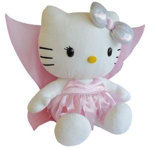 Jemini Peluche géante Hello Kitty Fée 70 cm