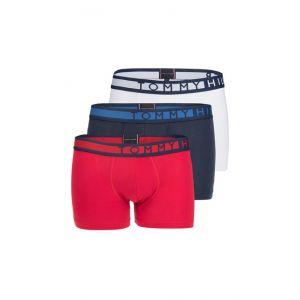 Tommy Hilfiger 3 Pack Trunk boxer Hommes bleu rouge blanc T. L
