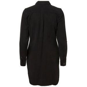 Vero Moda Robes Vero-moda Silla L/s Short - Black - XL