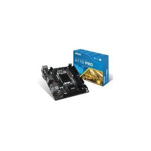 MSI H110I PRO - Pro Carte mère Mini ITX Socket LGA1151