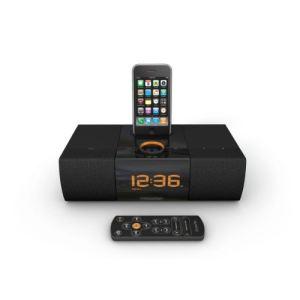 Xtrememac Luna SST - Radio réveil avec station d'accueil pour iPod/iPhone
