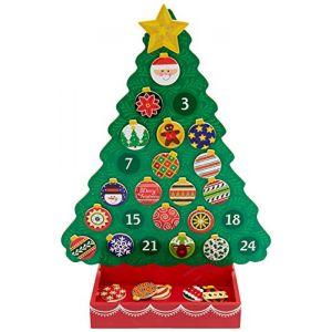 Melissa & Doug 13571 - Compte les jours jusqu'à Noël : Calendrier de l'Avent