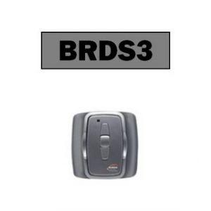 Burda Interrupteur/télécommande murale argent, pour piloter rampe chauffange - BRDS3.