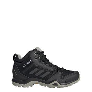 Adidas Terrex Ax3 Mid GTX W, Chaussure de Piste d'athlétisme Femme, Noyau Noir/DGH Gris Solide/Teinte Violet, 43 1/3 EU