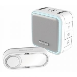 Honeywell Carillon sans fil flash, blanc