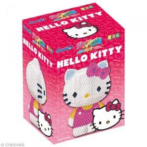 KSG Sequin art : Hello Kitty