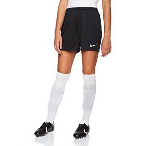 Nike Park II Short Women Femme, Noir/Blanc, FR : L