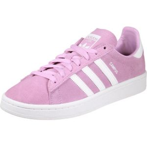 Adidas Campus, Baskets Basses Mixte Enfant, Rose (Frost Pink/Footwear White/Footwear White), 36 EU