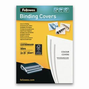 Fellowes Delta Couverture Blanc