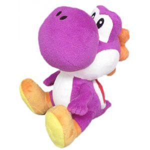 Peluche Nintendo Super Mario : Yoshi violet (15 cm)