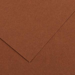 Canson 200040176 - Feuille Iris Vivaldi A4 185g/m², coloris chocolat 34