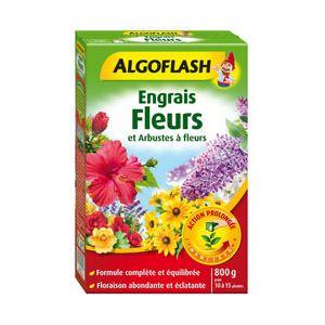 Algoflash Engrais fleurs et arbustes fleuris 800 g
