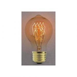Cablematic Edison ampoule incandescente E27 40W 220VAC 60x112mm