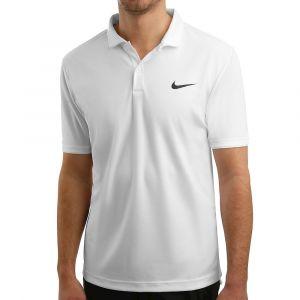 Nike Polo de tennis Court Dri-FIT Team pour Homme - Blanc - Taille 2XL - Male