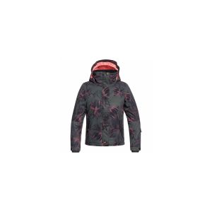 Roxy Jetty Veste Fille True Black_Swell Flowers Girl FR : 2XL (Taille Fabricant : 2XL)