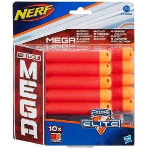 Hasbro A4368E240 - 10 fléchettes recharges Nerf Mega Elite Centurion