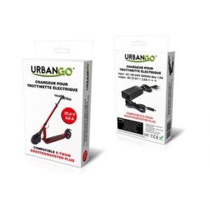 Urbango Chargeur pour trottinette électrique E-Twow Booster 37,4V 3,5A
