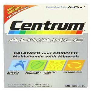 Centrum Advance - Pack de 100 tablettes
