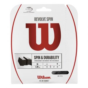 Wilson Ficelle Revolve Spin 12.2 M - Black - Taille 1.30 mm