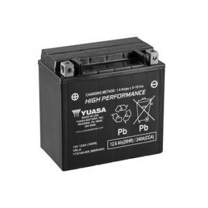 Yuasa BATTERIE YTX14H-BS AGM L150mm W87mm H145mm Batterie identique à l'origine convient à tous types de 2 roues et quad