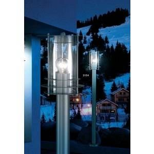 Globo Lighting Lampe d'exterieur Globo MIAMI Acier inoxydable, Transparent, 1 lumière Moderne