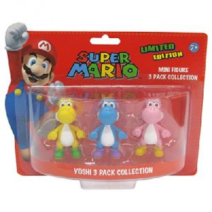 Abysse Corp Pack 3 Yoshi Super Mario de collection
