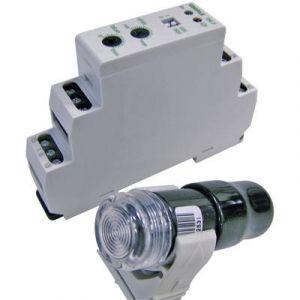 Eberle Interrupteur crépusculaire pour fixation sur rails DIN DÄ-F 565 19 DÄ-F 565 19