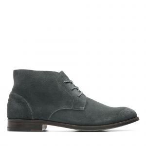 Image de Clarks Boots FLOW TOP Gris - Taille 40,41,42,43,44,45,46,42 1/2,47,41 1/2,44 1/2