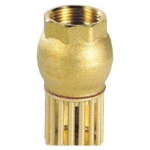 sferaco 304005 - Clapet crépine de retenue verticale femelle 20x27 laiton