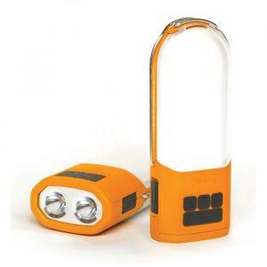 Biolite Lampe de camping PowerLight 006-6001108 à batterie, via USB 210 g orange, gris