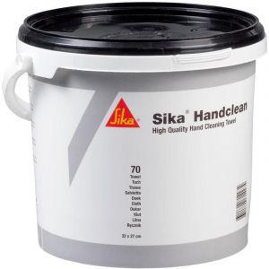 Sika Lingettes nettoyantes Handclean - Pot 70 lingettes