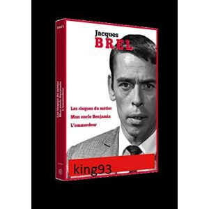 Jacques Brel : coffret 3 films