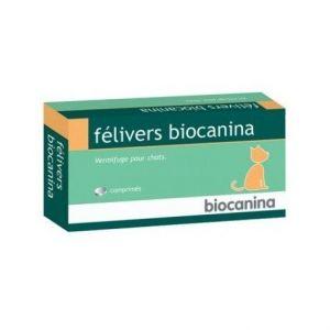 Biocanina Félivers Vermifuge Chats 4 comprimés