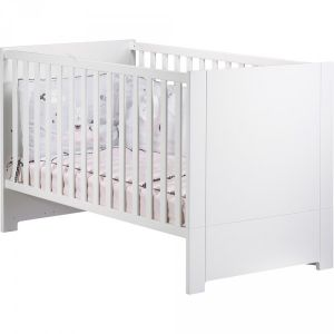Sauthon Loft blanc - Lit bébé évolutif Little Big Bed 70 x 140 cm