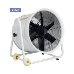 Sovelor Ventilateur extracteur mobile sur roues diamètre 600 mm 2250W V650
