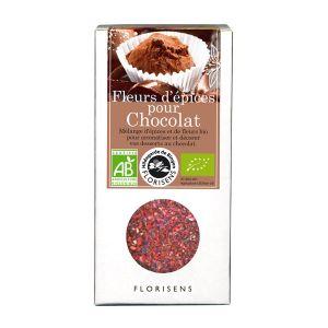 Hildegarde de Bingen Fleurs d'épices bio Chocolat pour la cuisine 40g