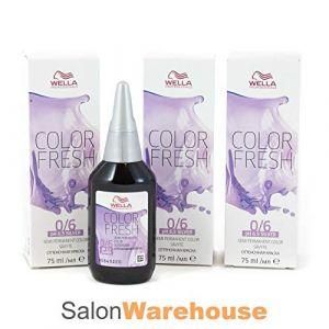 Wella Coloration semi-permanente COLOR FRESH SILVER - VIOLET 0.6 (75ml)