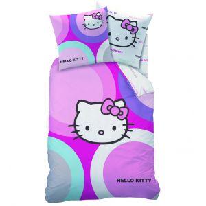 Cti Hello Kitty Selena - Parure de lit réversible (140 x 200 cm)
