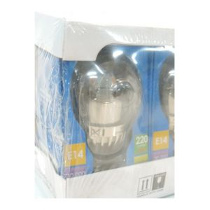 Megaman Ampoule LED 5W (equivalent 25W) spherique blanc chaud 2700K E14 230V MM21007