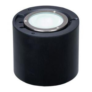 Akanua Spot rond électrique à enterrer - aluminium / inox - 230V - D12cm VARIO