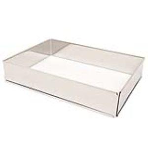 Baumalu 6012 - Cadre à pâtisserie rectangulaire réglable en inox