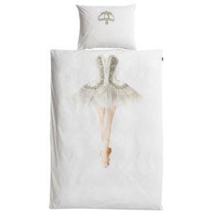 Snurk Ballerine - Housse de couette et taie en coton (140 x 200 cm)