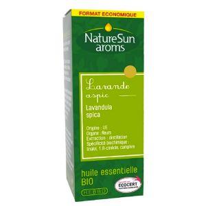 Naturesun aroms huile essentielle lavande aspic bio 30ml - Prix huile essentielle de lavande ...