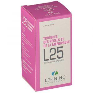 Lehning Complexe L25 troubles des règles et de la ménopause