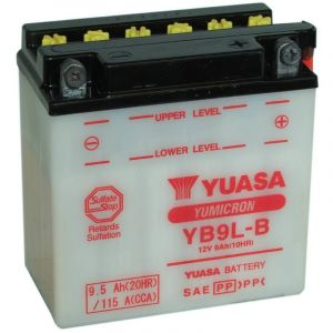 Yuasa Batterie YB9L-B 12V 9Ah
