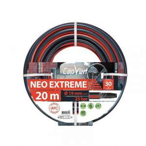 Cap Vert Tuyau d'arrosage Néo Extrême - Diamètre 19 mm - Longueur 20 m