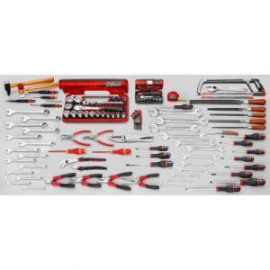 Facom Servante d'atelier mobile JET+ 9 tiroirs dont 3 modules par tiroir JET.9GM3